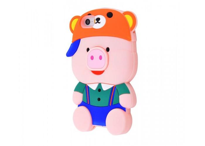 Чехол для iPhone 5/5s/SE Teenager Pig 6