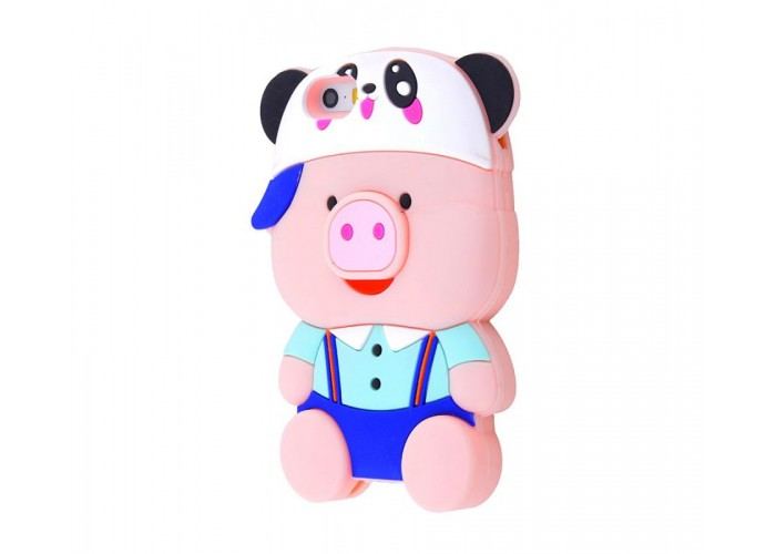 Чехол для iPhone 5/5s/SE Teenager Pig 1