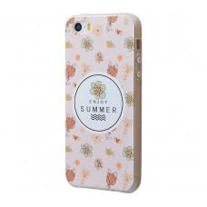 Чехол для iPhone 5/5s/SE Enjoy Summer