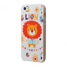 Чехол для iPhone 5/5s/SE Lion