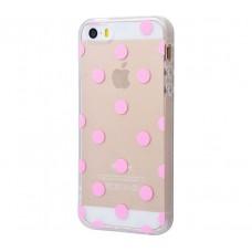Чехол для iPhone 5/5s/SE Pink Dots