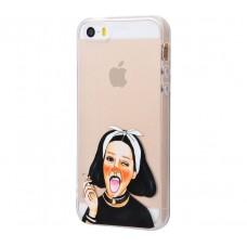 Чехол для iPhone 5/5s/SE Smoking