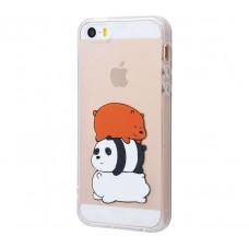 Чехол для iPhone 5/5s/SE Sleeping Bears