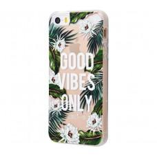 Чехол для iPhone 5/5s/SE Good Vibes Only