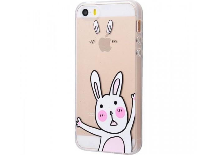 Чехол для iPhone 5/5s/SE Bunny