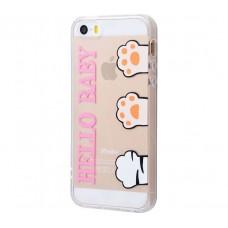 Чехол для iPhone 5/5s/SE Hello Baby