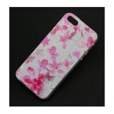 Чехол для iPhone 5/5s/SE Pink Flowers