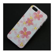 Чехол для iPhone 5/5s/SE Apple Flowers