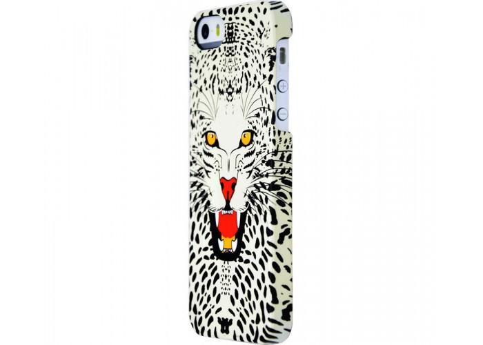 Чехол для iPhone 5/5s/SE Luxo Face neon №11