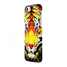 Чехол для iPhone 5/5s/SE Luxo Face neon №12