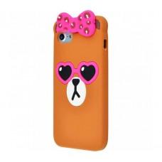 Чехол для iPhone 5/5s/SE Animals Bow
