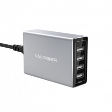 Зарядное устройство RavPower Porsche Design 40W 4-Port USB Charger Charging Station with iSmart RP-PC030