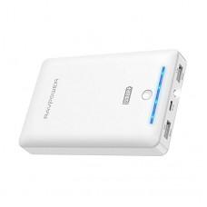 Внешний аккумулятор RAVPower 16750mAh, 4.5A Dual USB Output Portable Charger External Battery Power Bank, White RP-PB19WH
