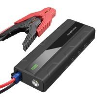 Внешний аккумулятор RAVPower Car Jump Starter 1000A Peak Current Quick Charge 3.0 12V 14000mAh, Black RP-PB063