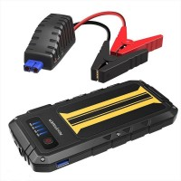 Внешний аккумулятор RAVPower Car Jump Starter 8000mAh 300A Peak Current Quick Charge 3.0, Black/Yellow RP-PB007