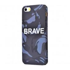 Чехол для iPhone 5/5s/SE Ibasi & Coer Brave черный