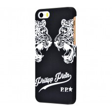 Чехол для iPhone 5/5s/SE Philipp Plein Two Tigers