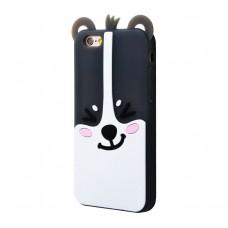 Чехол для iPhone 7 Plus/8 Plus Zoo Look Black Dog