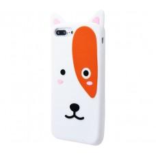 Чехол для iPhone 7 Plus/8 Plus Zoo Look White Dog