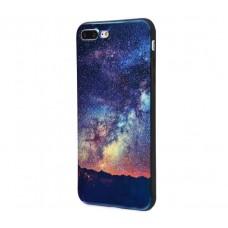 Чехол для iPhone 7 Plus/8 Plus перламутр Звездное небо
