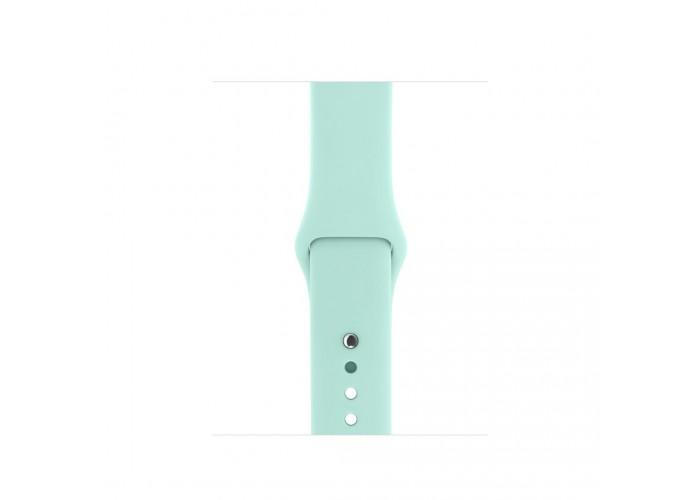 Силиконовый ремешок для Apple Watch 38/40/42/44мм Marine Green