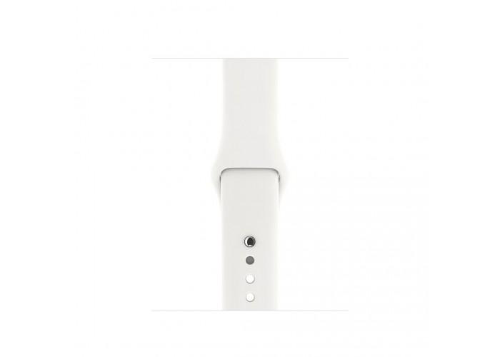 Силиконовый ремешок для Apple Watch 38/42мм Soft White
