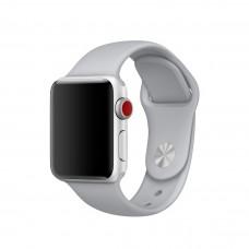 Силиконовый ремешок для Apple Watch 38/40/42/44мм Fog