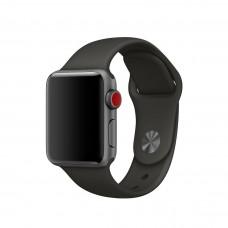 Силиконовый ремешок для Apple Watch 38/40/42/44ммм Gray