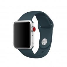 Силиконовый ремешок для Apple Watch 38/40/42/44мм Dark Teal