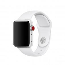 Силиконовый ремешок для Apple Watch 38/42мм Spicy White