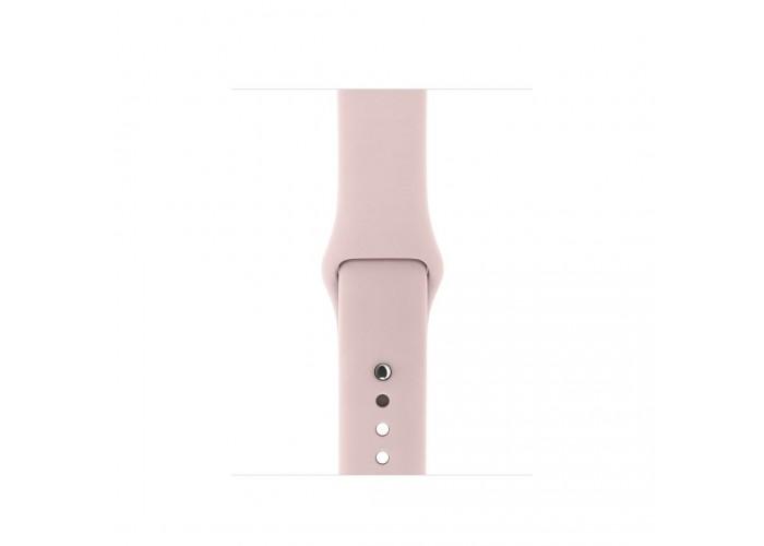 Силиконовый ремешок для Apple Watch 38/42мм Pink Sand