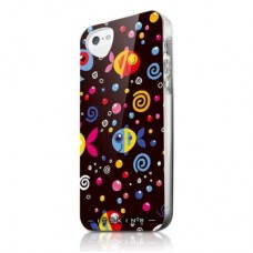 Чехол для iPhone 5/5s/SE ITSkins Phantom рыбы черный