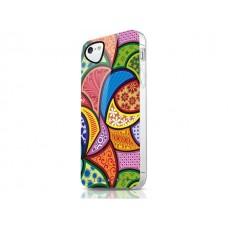 Чехол для iPhone 5/5s/SE ITSkins Phantom орнамент разноцветный