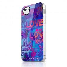 Чехол для iPhone 5/5s/SE ITSkins Phantom Love фиолетовый