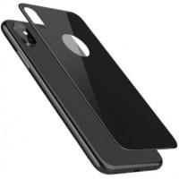 Защитное стекло iLera 3D на заднюю панель для iPhone X черное