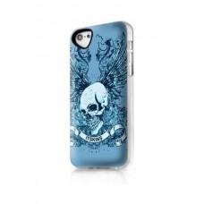 Чехол для iPhone 5/5s/SE ITSkins Phantom череп серый