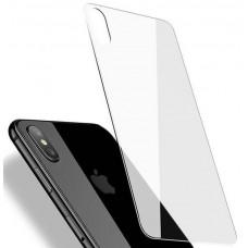 Защитное стекло iLera 3D на заднюю панель для iPhone X прозрачное