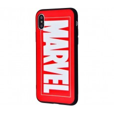 Чехол для iPhone X / Xs IMD My Style красный