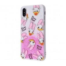 Чехол для iPhone X Cartoon Daisy Duck