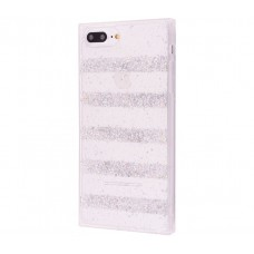 Чехол для iPhone 7 Plus/8 Plus Shine Line серебристый