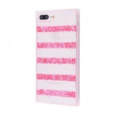 Чехол для iPhone 7 Plus/8 Plus Shine Line розовый