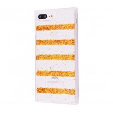 Чехол для iPhone 7 Plus/8 Plus Shine Line золотистый