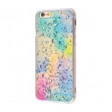 Чехол для iPhone 7 Plus/8 Plus Confetti бирюзовый
