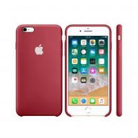 Силиконовый чехол Apple Silicone Case Dark Red для iPhone 6 Plus/6s Plus