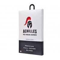 Защитное стекло для IPhone X ACHILLES FULL SCREEN ЧЕРНЫЙ