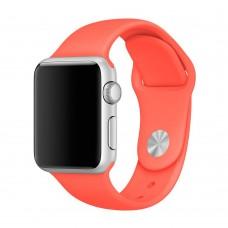 Силиконовый ремешок для Apple Watch 38/40/42/44мм Apricot (Априкот)