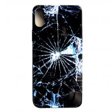 Чехол Glass Case для iPhone 6/7/8/7 Plus/8 Plus/X/Xs с рисунком битого стекла