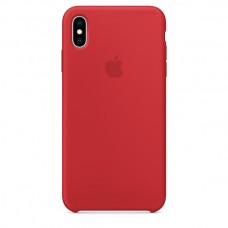 Apple Silicone case iPhone XS Max Red купить Киев Украина - appleiPhone XS Max silicone case