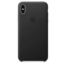 Apple Leather case iPhone XS Max Black купить Киев Украина - apple iPhone XS Max Leather case