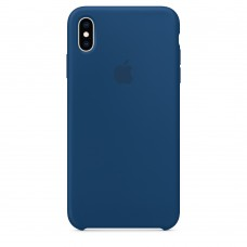 Apple Silicone case iPhone XS Max Blue Horizon купить Киев Украина - appleiPhone XS Max silicone case